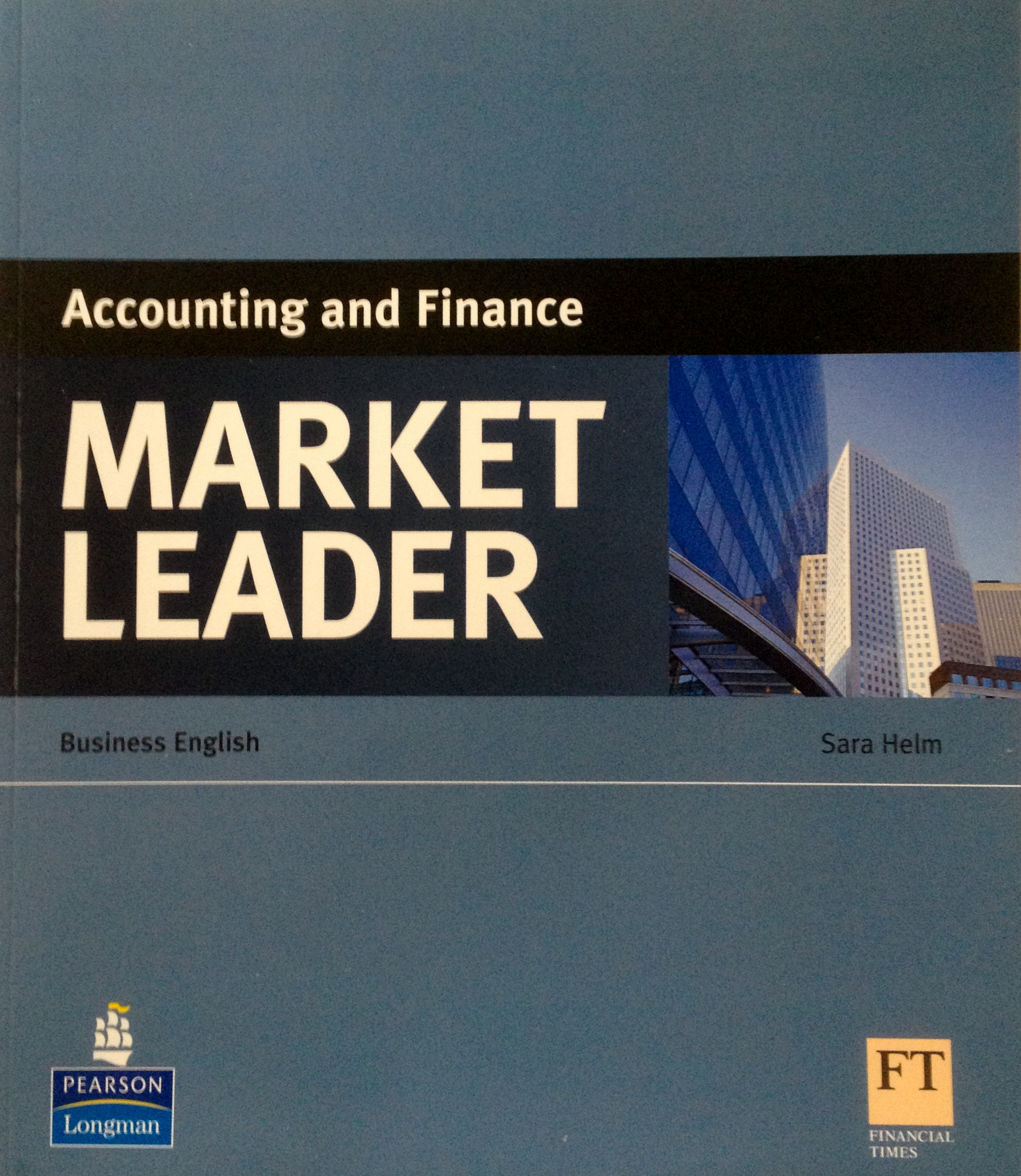 Pearson Market Leader Accounting and Finance