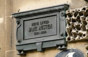 Jane Austen lived here