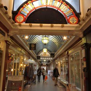 Victorian Arcade, Bath, UK