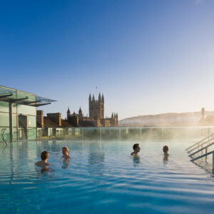 Themae Spa roof top Bath,UK
