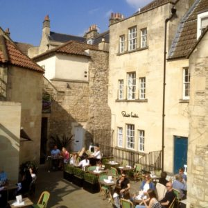 Outdoor Cafe, Bath, UK