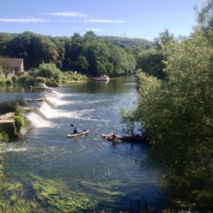 Bathhampton Weir, Bath, UK
